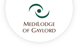 Medilodge of gaylord web logo